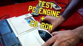 Test PC Engine + CD-Rom