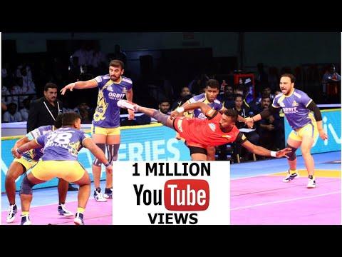 Pro Kabaddi 2018 - Tamil Thalaivas vs Bengaluru Bulls Match Highlights
