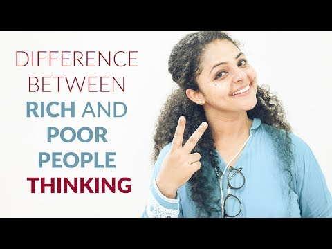 Difference Between Rich And Poor People Thinking