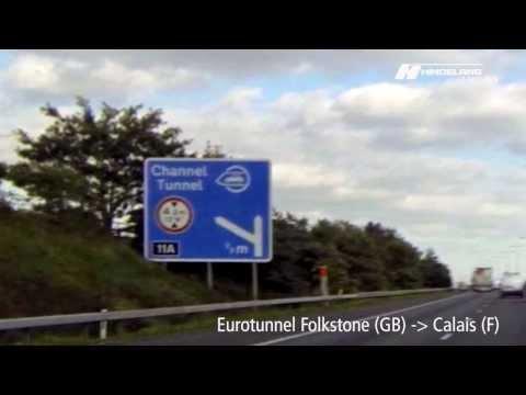Eurotunnel Folkestone (GB) - Calais (F) | HindelangDrive