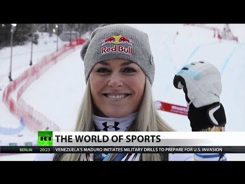 Lindsey Vonn Medals in her final race Mp3