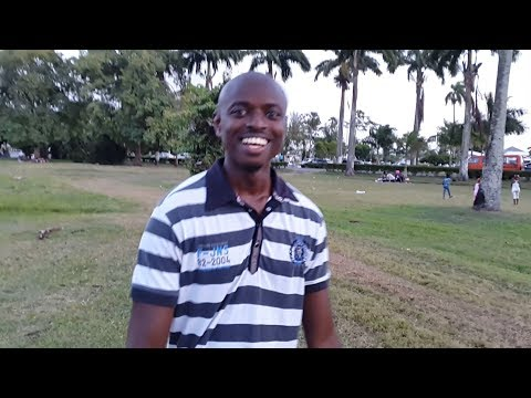 Vlog / My country Guyana / Inside the Botanical Gardens