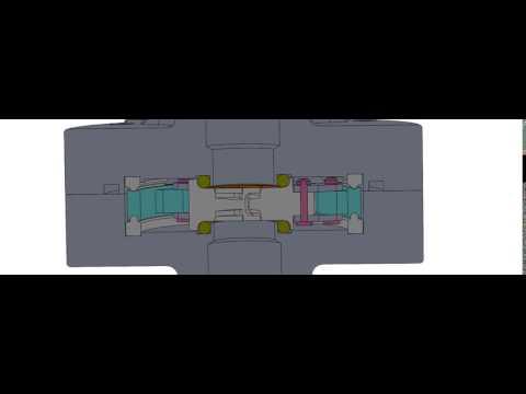 Shutter Valve Mechanism & Seals Animation