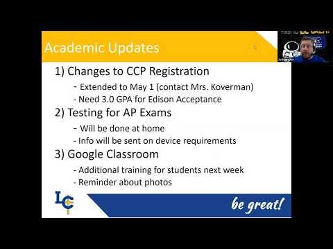 Lehman Catholic High School - Weekly Parent Update 4 9 2020