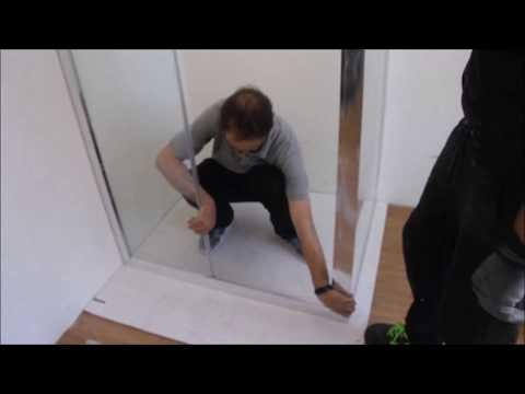 Istruzioni Montaggio Box Doccia Ante Scorrevoli.Guida Montaggio Box Doccia Scorrevole Youtube
