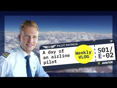 MY DAY AS AN AIRLINE PILOT | VLOG #2