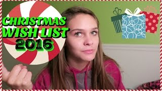 CHRISTMAS WISH LIST 2016 | Emma Marie's World(I tell you my top 15 things on my Christmas wish list for 2016. What are your top 15 things you want for Christmas? SUBSCRIBE http://bit.ly/1Kxhe2b to join my ..., 2016-11-23T17:47:16.000Z)