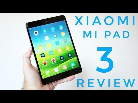 Xiaomi Mi Pad 3 Tablet REVIEW - 4GB RAM, 64GB ROM, Android 7.0