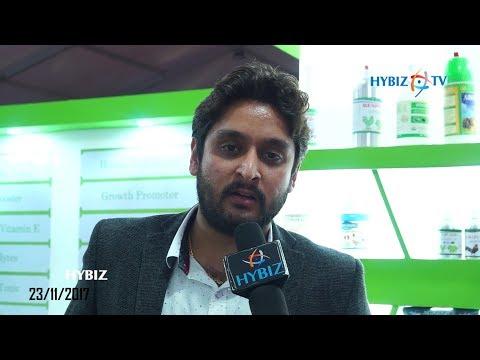 Mayank Arora, Argano Organic Ltd    Poultry India 2017 Hitex Hyderabad