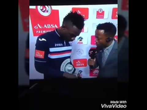 Ghanaian Footballer Mohammed Anas won man of the match and he thanked his wife and girlfriend