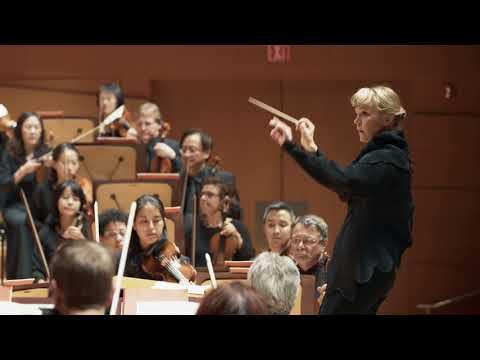 Susanna Mälkki on Conducting the Los Angeles Philharmonic at Walt Disney Concert Hall