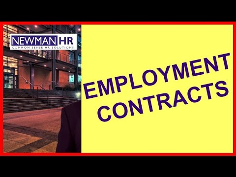 Employment Contracts Protect Employees and Employers - London UK