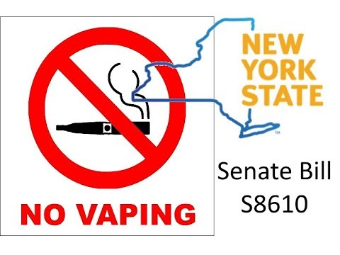 URGENT! New York Flavor Ban Senate Bill S8610