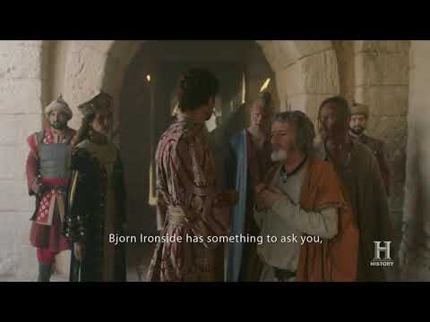 Vikings S05E04 - Bjorn wants to meet the real emperor