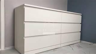 이케아(IKEA) 말름(MALM) 6칸 수납장 이케아 …
