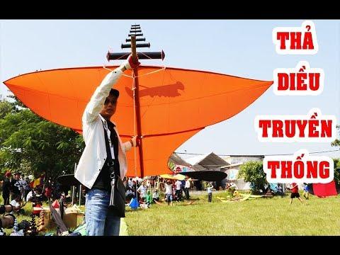 Thả diều truyền thống clb Hải Phòng - Kite flying contest   Phương PV