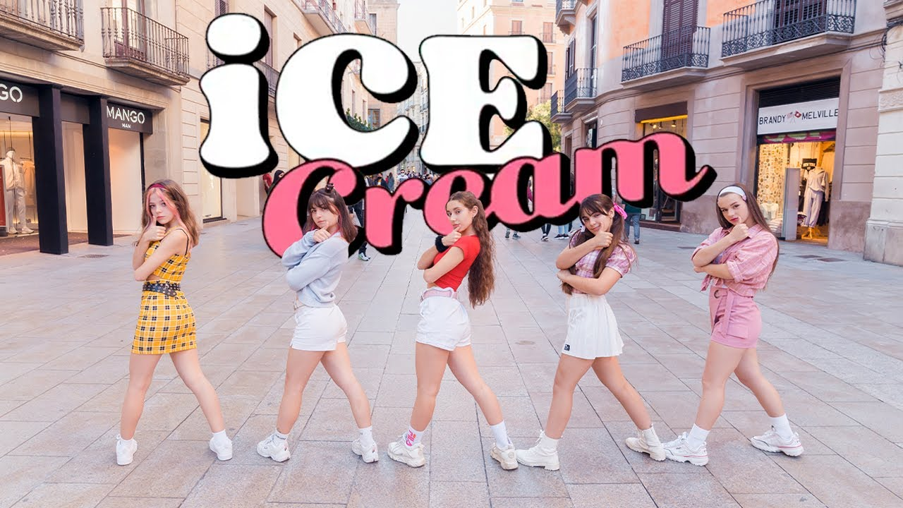 [KPOP IN PUBLIC] BLACKPINK (블랙 핑크) ft. SELENA GOMEZ  _ ICE CREAM   Dance cover by EST CREW