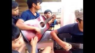 Ngôi trường dấu yêu - Guitar Solo by Thuận kon tum