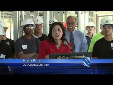 Labor Secretary Hilda Solis Visits Phoenix