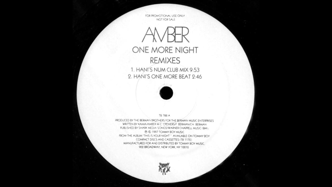Amber - One More Night (Junior Vasquez Juniorverse Extended Mix)