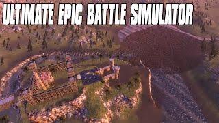 battle of helms deep 1000 heavy knights vs 50000 orcs ultimate epic battle simulator