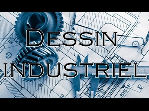 cours complet de dessin technique industriel partie 1 youtube. Black Bedroom Furniture Sets. Home Design Ideas