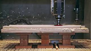 5 axis wood processing [ pt.2] - Passoni Design