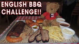 UNDEFEATED ENGLISH BARBECUE CHALLENGE!!