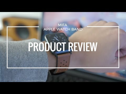 Mifa Apple Watch Classic Leather Band Reviewed by Harris Craycraft