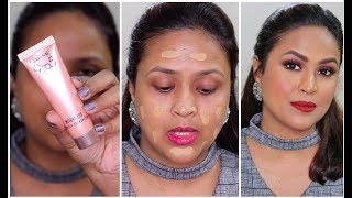 Lakme 9To5 Weightless Mousse Foundation Review Demo Wear Test