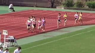 第69回西日本学生陸上競技対校選手権大会 女子1500m予選1組2016.07.01...