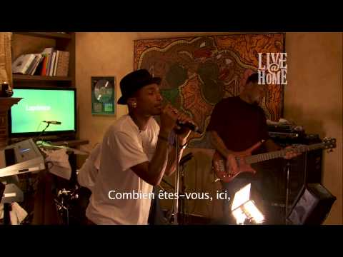N*E*R*D - Pharrell Williams - Live@Home - Part 3 - Party People, Lapdance, Hot'n'fun,