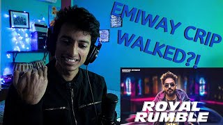 EMIWAY - ROYAL RUMBLE (PROD BY. BKAY) || Big Scratch Bisects