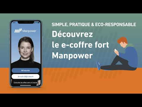 Appli Mon Manpower, mode d'emploi : le e-coffre fort