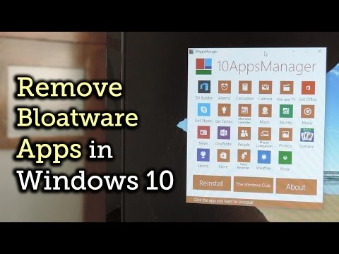 Uninstall Pre-Loaded Bloatware Apps on Windows 10 [How-To]