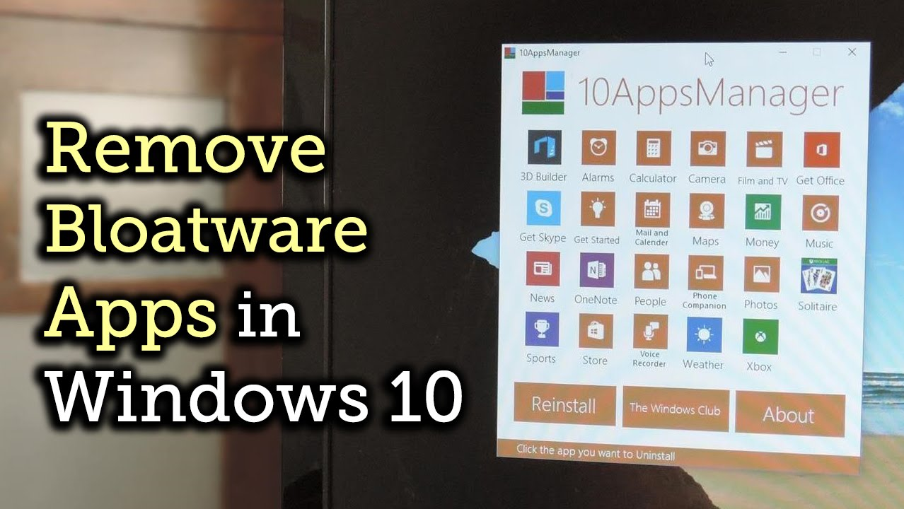 Goodbye, Bloatware! How to Remove All Preinstalled Crapware