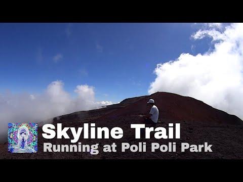 Trail Running Maui- Poli Poli and Skyline
