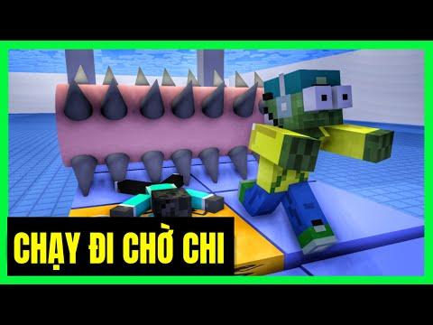 [ Lớp Học Quái Vật ] CHẠY ĐI CHỜ CHI ( Full Tập ) | Minecraft Animation