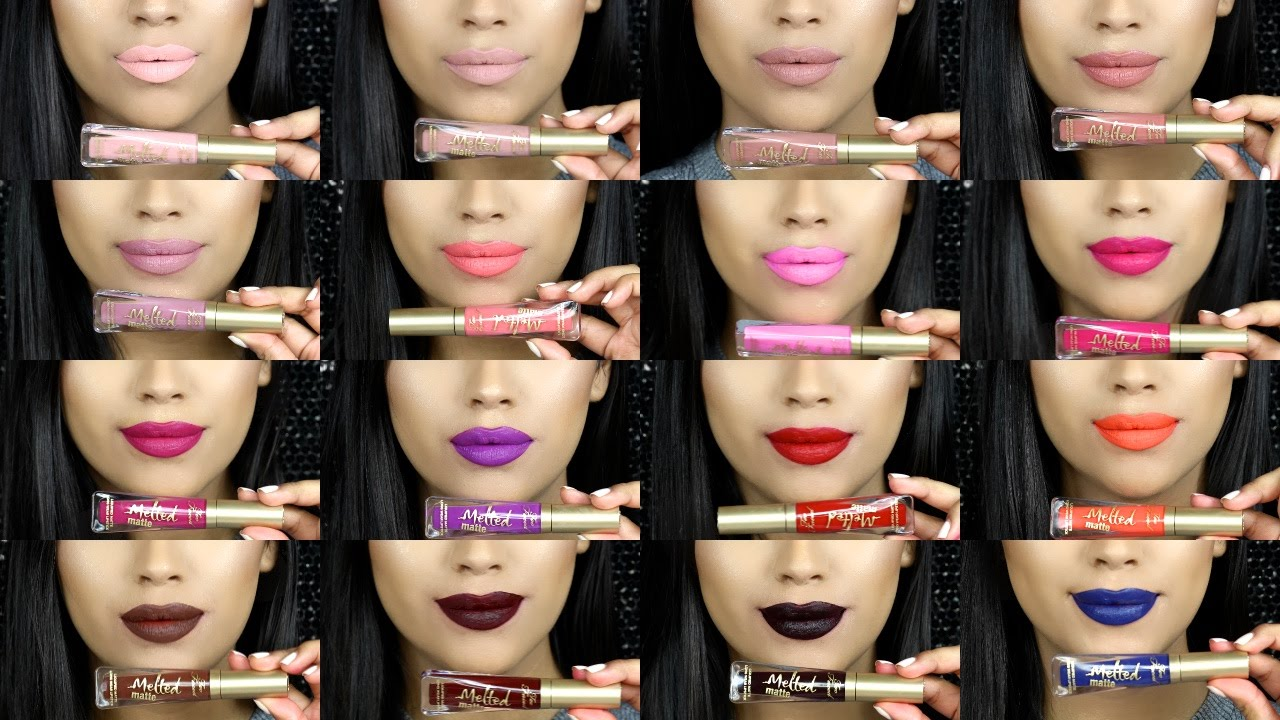 How to matte wear lipstick
