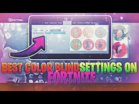 MY COLOR BLIND SETTINGS ON FORTNITE!|BEST SETTINGS FOR ALL CONSOLES!|PS4 & XBOX ONE BEST SETTINGS