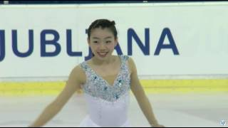 2016 JGP スロベニア大会 女子フリー 紀平梨花