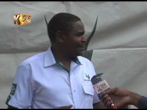 Kameme FM morning presenters interact with their fans in Nyeri