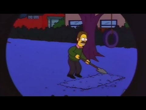 The Simpsons - Ned Flanders Kills His Wife