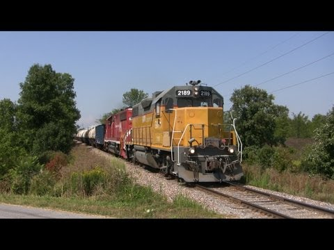 Vermont Rail System Freight Train BDRD South from Burlington to Pittsford