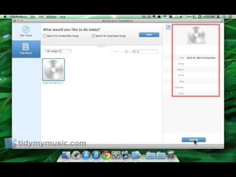How to Fix & Edit ID3 Tags for Music on Mac In Batch