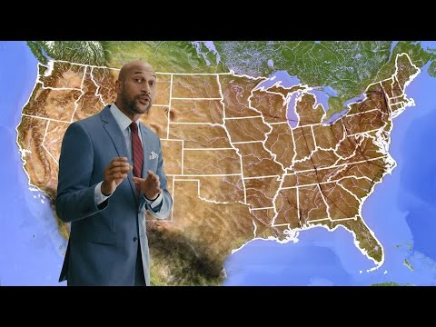 Keegan-Michael Key's 'Weather' Forecasts Misery, Giggling And Scattered Bankruptcies In Post-Trump Climate