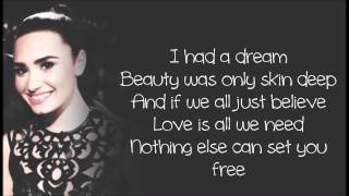 Repeat youtube video Demi Lovato - Together ft. Jason Derulo Lyrics