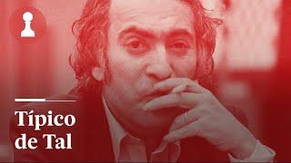 Sacrificio típico de Mijaíl Tal | Ajedrez