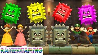 Mario Party 9 MiniGames Peach vs Daisy vs Mario vs Luigi Master