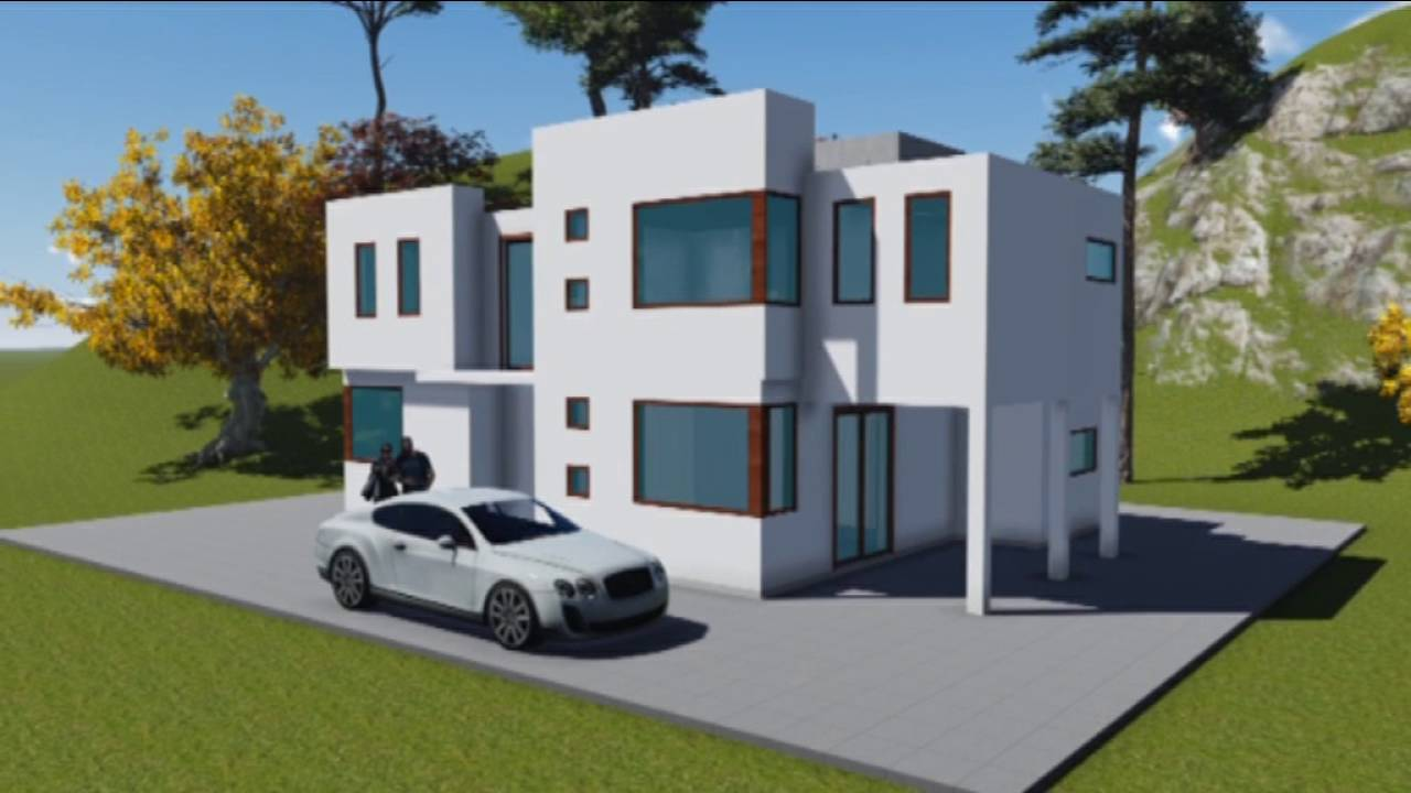 Proyecto de casa 120 m2 youtube for Casa moderna de 50 m2